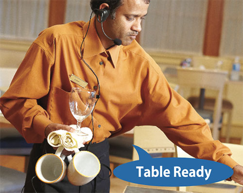 Two-Way Radio for restaurants