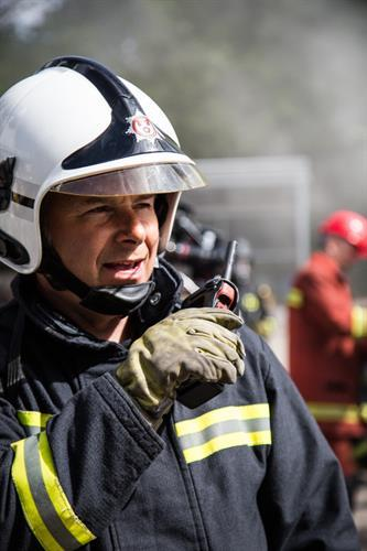 Two Way Radios for Fire and Rescue Officers