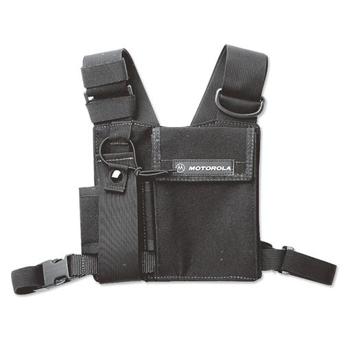 HLN6602A Universal Chest Pack Two Way Radio Holder