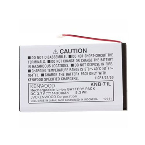 Kenwood KNB-71L replacement battery
