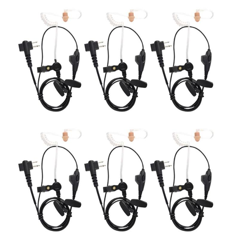 P9500 Surveillance Style Headset Kit 6 Pack