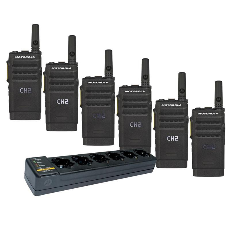 Motorola SL300 6 Pack with Multi-Charger