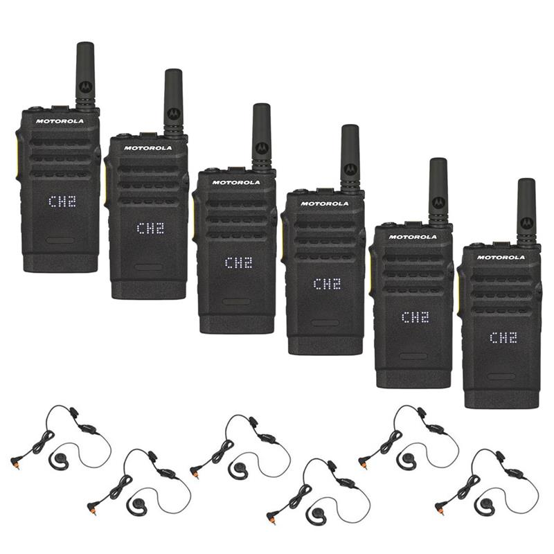 Motorola SL300 6 Pack with Headsets