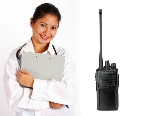 Two-Way Radio for doctor - dental office